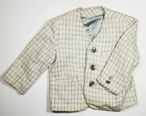Vintage Acecraft Boys Suit Blazer Lined