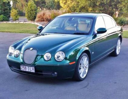 2005 Jaguar S-Type 4.2 V8 with R Spec Package by BGS Classic Cars