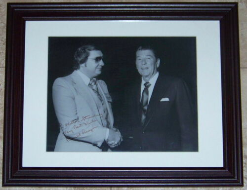 EXTREMELY RARE! President Ronald Reagan Signed Autographed 8x10 Photo PSA LOA!