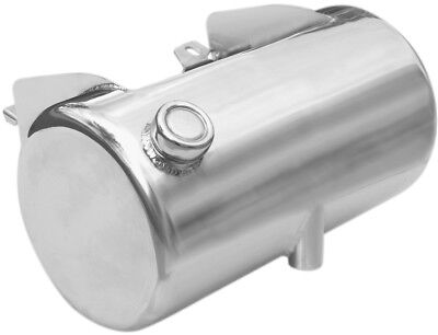 Ultima 3.5 Chrome Plated Side Fill Round Oil Tank for 1984-1999 Softail or Rigid