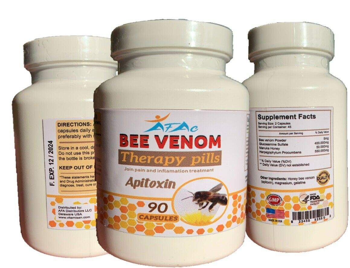 2 Glucosamine & Chondroitin MSM Bee Therapy Osteo Forte Miracle Joint Cartilage 7
