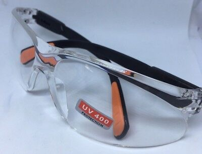 Picador Safety Glasses Protective Eye Wear Uv400 Protection Clear Lens- New