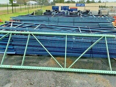 Used Teardrop Uprights For Pallet Racking 42 X 18h.