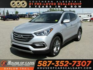 2017 Hyundai Santa Fe Sport 2.4 SE / Heated leather Seats / Back