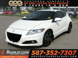 2015 Honda CR-Z Premium / Navi / Leather /
