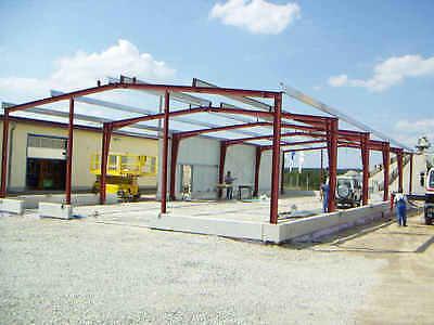 Stahlhalle, Hallenbau, Stahlrahmen, Binder, Lagerhalle, Maschinenhalle, Statik