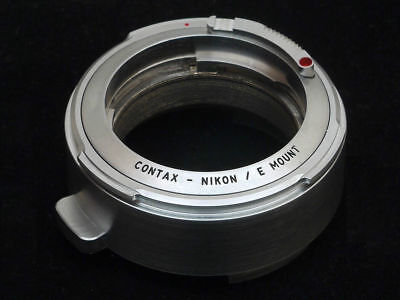 Contax Rangefinder & Nikon S to Sony E Mount, Nex, A7 adapter.