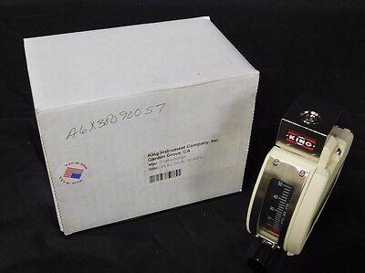 New King 7100 Series Air Rotameter 7101441009a Stainless Steel Ss 55 Scfh Nib