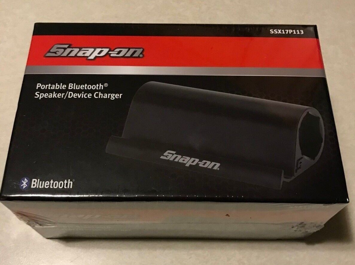 Snap-on Tools PORTABLE BLUETOOTH SPEAKER/DEVICE CHARGER SSX1