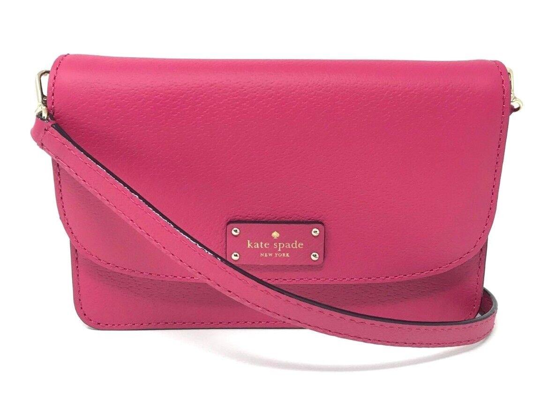 Kate Spade Grove Street Mikka Punch Crossbody Bag Wallet