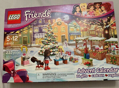 New LEGO Friends Christmas Countdown Advent Calendar 2015 24 Days #41102 41102