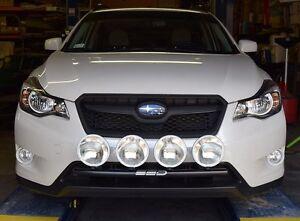 Details about 2013-2014 Subaru XV Crosstrek RALLY LIGHT BAR, Bull Bar