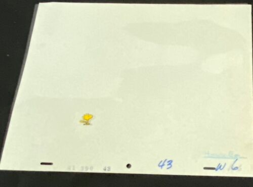 SNOOPY - WOODSTOCK CEL FROM TV SPECIAL
