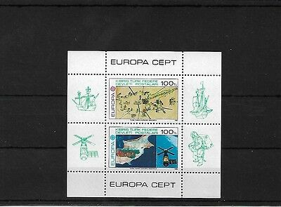 CYPRUS : TURKISH 1983 EUROPA SHEETLET, SGMS134 CAT £30 MNH