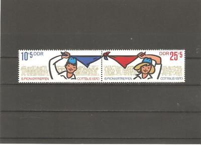 Briefmarken---DDR---1970-----Postfrisch----Mi 1596 - 1597 -----Paar-----