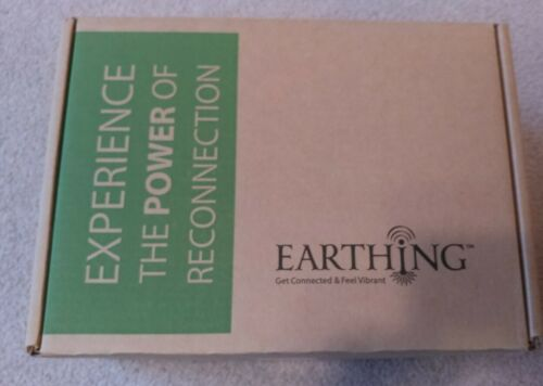 Earthing Connection Kit With Throw Blanket New In Box - $50.00