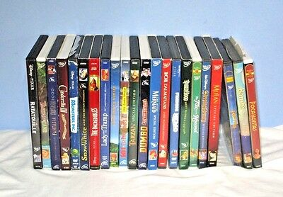 22 WALT DISNEY Cartoon Classic DVD's LOT