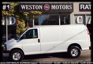 2012 Chevrolet Express G2500*EXTENDED*RARE*GREAT SHAPE*LOW KM!!!