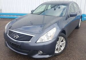 2013 Infiniti G37X  AWD *LEATHER-SUNROOF*