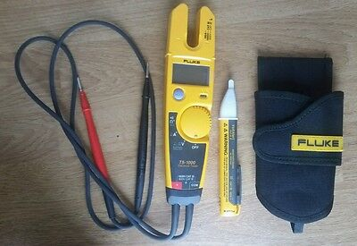 Fluke T5-1000 Voltage Continuity And Current Tester 1000vfluke Voltalert