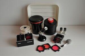 Équipement pour chambre noire / Darkroom photo accessories