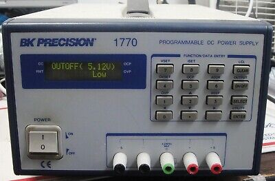Bk Precision Type 1770 Programmable Dc Power Supply With Power Cord