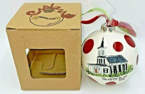 2016 Palmetto Bluff South Carolina Christmas Ornament illumiNations Isaiah 60.3