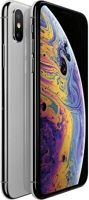 Apple iPhone XS Max - 512GB - Unlocked - Silver - Excellent Condition