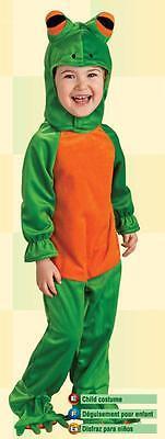 Frosch Kostüm 6-12 Monate Baby Kleinkind Jungen Mädchen Halloween Süß Strampler