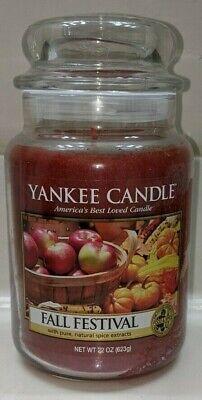 Yankee Candle~Fall Festival~~White Label~ 22 oz~~Woza