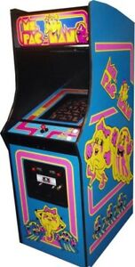 Wanted: Ms Pacman upright Arcade