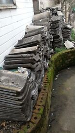 Old roof tiles as seen in the pic whole lot for £60