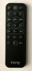 OEM iHome Rz1 Remote Control Alarm Clock iPod Dock For IP49 IP90 Black original