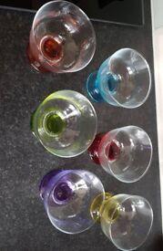 Set of 6 Dessert Glasses/Bowls