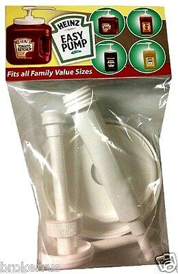 Family Value Size Heinz Easy Pump Push Dispenser Ketchup Mustard 57 10 51103