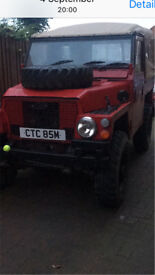 Land Rover light weight Free road tax
