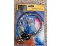 Laptop PC Notebook Computer Security Cable Kensington Lock with 2 Keys