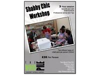 Shabby Chic Workshop 06/05/2017