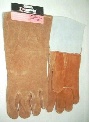 Victor Firepower 1423-0051 Russet Leather Welding Glove W Thumb Strap 12