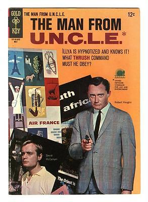 Man From Uncle 6  Vf   The 3 Blind Mice Affair  Free Shipping With Bin