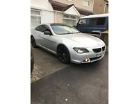BMW 630i - FSH - SAT NAV - Freeview - Headrest Screens - MOT Sep 2017 - HPI Clear - RARE Manual
