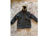 Boys Hype Parker Coat age 13 (worn twice)
