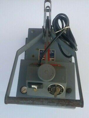 Geo-knight Model 374 Gsn 8 X 6 Industrial Heat Press 120v 3.75 Amps