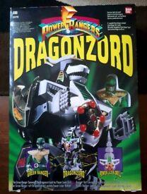 Mighty Morphin' Power Rangers Dragonzord 1993 *BOXED*