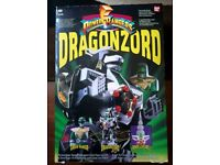 Mighty Morphin' Power Rangers Dragonzord 1993 *BOXED*