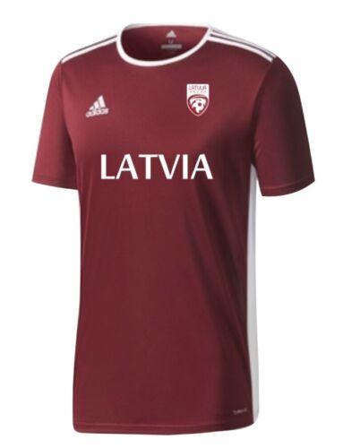 LATVIA national football team  fans jersey - XL, XXL Size - Reds