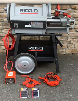 Demo Model Ridgid 1224 Pipe Threader 12-4 Rigid 300 535 Used Once