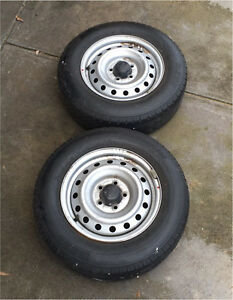 Toyota hilux stock rims and tyres Fulham Gardens Charles Sturt Area Preview