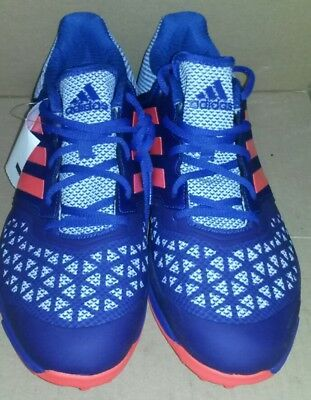 outlet store 0062a 293c7 ADIDAS ZonE DoX FielD HockeY TurF TraineR NEW MENS ShoeS BluE OrangE SIZE 13