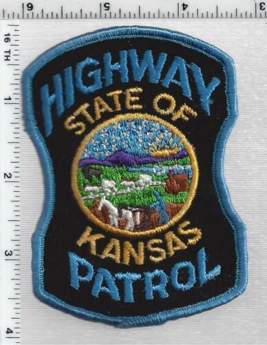 Highway Patrol (Kansas) 2nd Issue Shoulder Patch